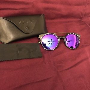 Purple Polarized Astro DIFF Eyewear Sunglasses